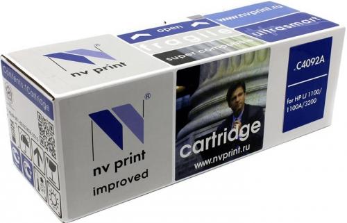 Совместимый картридж NV Print для HP C4092A (2500 стр., черный)