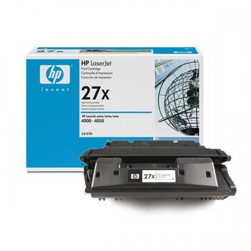 (Уценка)Картридж HP 27X C4127X - НТВ-1 для LaserJet 4000, 4050  черный  (10 000 стр.)