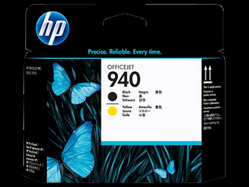 Оригинальный картридж HP C4900A (940) (3320 стр., черный + желтый)