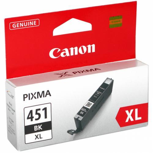 (Уценка)Оригинальный картридж CANON CLI-451XL Bk (4 425 стр., черный)