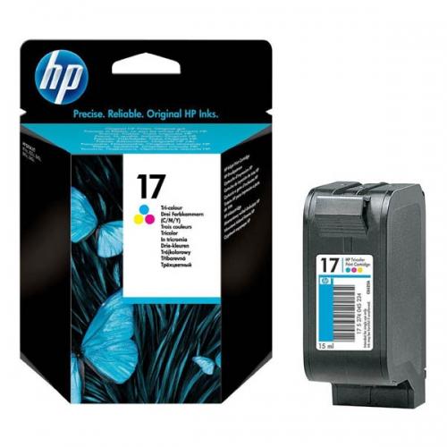 Оригинальный картридж HP C6625A (цветной, 15 мл.)