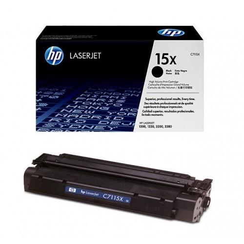 (Уценка)Картридж HP 15X C7115X - НТВ-2 для LaserJet 1000w, 1200, 1220, 3300, 3380  черный  (3 500 стр.)
