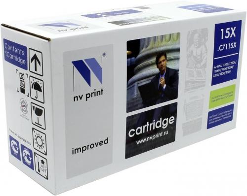 Совместимый картридж NV Print для HP C7115X (3500 стр., черный)