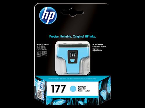 Оригинальный картридж HP C8774HE (177)  (220 стр., светло-голубой)