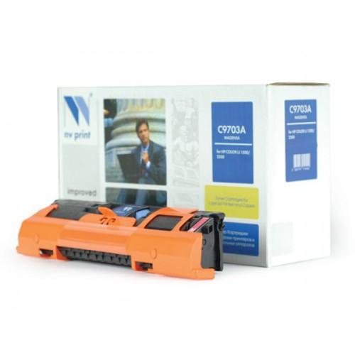 Совместимый картридж NV Print для HP C9703A MAGENTA (4000 стр., пурпурный)