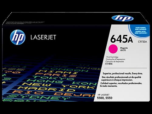 ОРИГИНАЛЬНЫЙ КАРТРИДЖ HP C9733A (12000 СТР., ПУРПУРНЫЙ) ДЛЯ ПРИНТЕРОВ HP LASERJET 5500 | 5500N | 5500DN | 5550 | 5550N | 5550DN