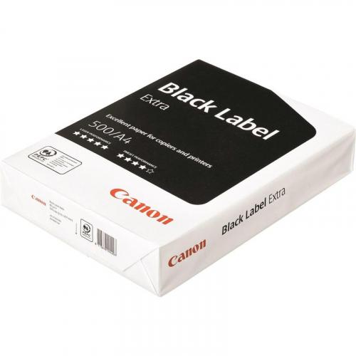 """Бумага для офисной техники Canon Black Label Extra (А4, 80 г/кв.м, 500л., класс """"B"""")"""