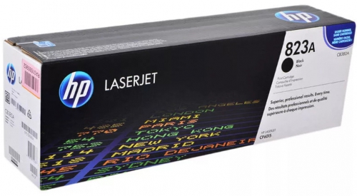 (Уценка) Картридж HP CB380A - НТВ-1 для Color LaserJet CP6015DN, CP6015N, CP6015XH  черный  (16 500 стр.)
