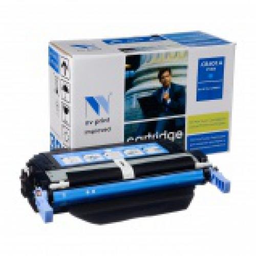 Совместимый картридж NV Print для HP CB401A CYAN (7500 стр., голубой)
