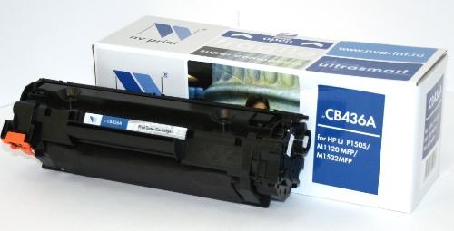 Совместимый картридж NV Print для HP CB436A (2000 стр., черный)