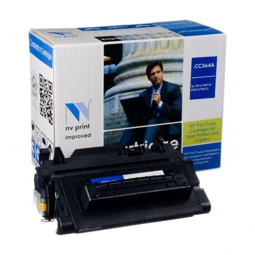 Совместимый картридж NV Print для HP CC364A (10000 стр., черный)