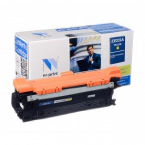 Совместимый картридж NV Print для HP CE252A YELLOW (7000 стр., желтый)