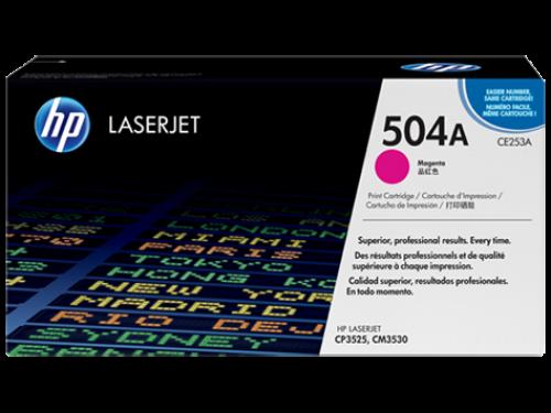 (Уценка) ОРИГИНАЛЬНЫЙ КАРТРИДЖ HP CE253A (7000 СТР., ПУРПУРНЫЙ) ДЛЯ ?HP COLOR LASERJET CM3530 / CP3525