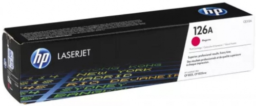 (Уценка) Kартридж HP CE313A - НТВ-2 для LaserJet Pro CP1025NW, M275 и 100 M175a  пурпурный  (1 000 стр.)
