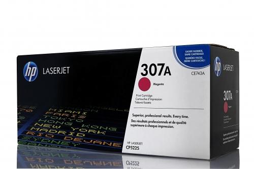 (Уценка) ОРИГИНАЛЬНЫЙ КАРТРИДЖ HP CE743A (7300 СТР.,ПУРПУРНЫЙ) ДЛЯ HP COLOR LASERJET PROFESSIONAL CP5225 | CP5225N | CP5225DN