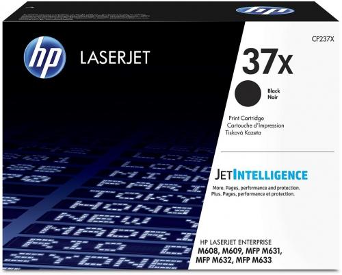 ОРИГИНАЛЬНЫЙ КАРТРИДЖ HP CF237X (37X) (25000 СТР., ЧЁРНЫЙ) ДЛЯ HP MFP M631 | M632 | M633