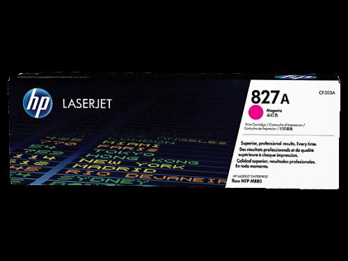 (Уценка) ОРИГИНАЛЬНЫЙ КАРТРИДЖ HP CF303A (ПУРПУРНЫЙ, 32000 СТР.) ДЛЯ HP COLOR LASERJET ENTERPRISE FLOW M880Z | M880Z+