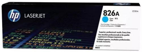 (Уценка) Kартридж HP CF311A - НТВ-1 для Color LaserJet Enterprise M855x+, M855xh  голубой  (31 500 стр.)