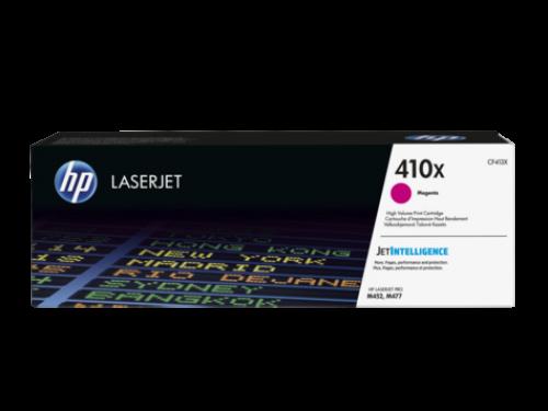 (Уценка) ОРИГИНАЛЬНЫЙ КАРТРИДЖ HP CF413X (410X) (5000 СТР., ПУРПУРНЫЙ) ДЛЯ HP COLOR LASERJET PRO M452 / 477