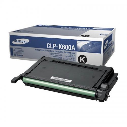 (Уценка)Картридж Samsung CLP-K600A/SEE - НТВ-1 для CLP600/CLP600N/CLP650/CLP650N  черный  (4 000 стр.)