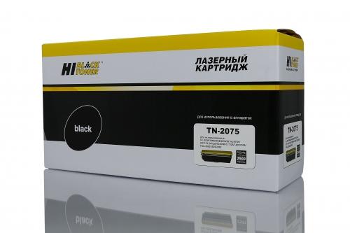 Совместимый картридж Hi-Black TN-2075 (2500 стр., черный)