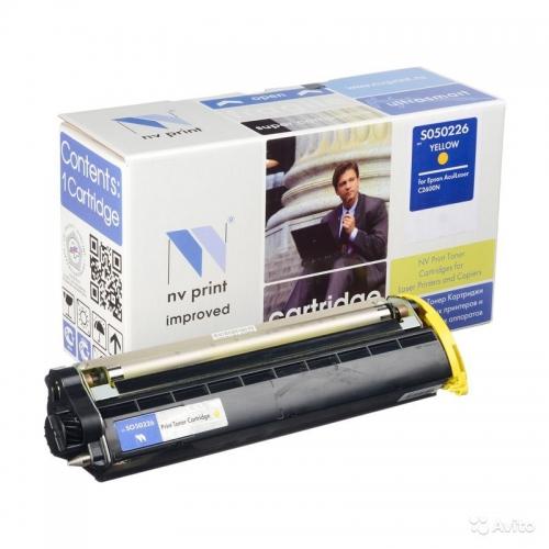 Совместимый картридж NV Print для Epson S050226 Yellow (5000 стр., желтый)