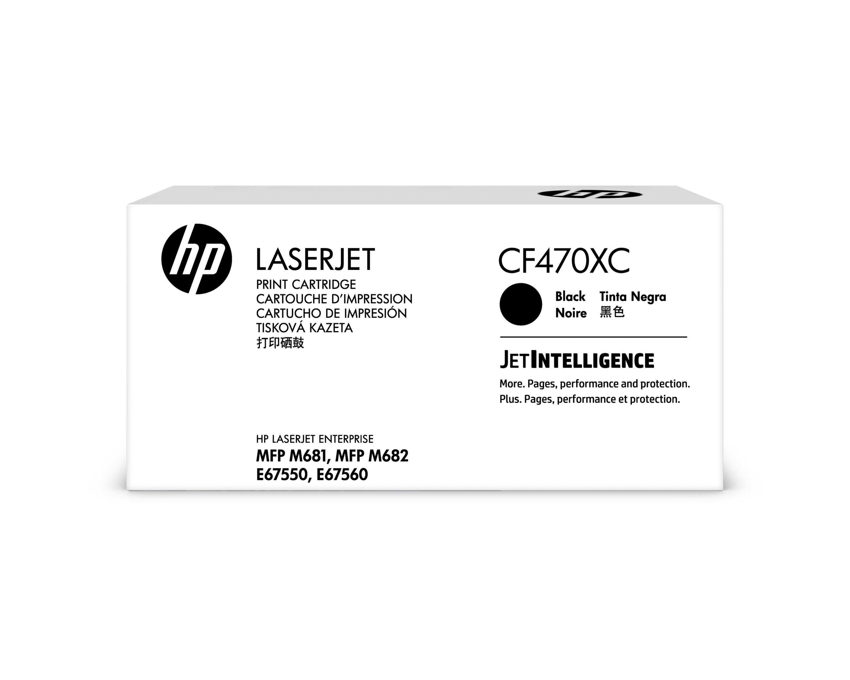 Картридж лазерный HP 657XC CF470XC черный (28000стр.)