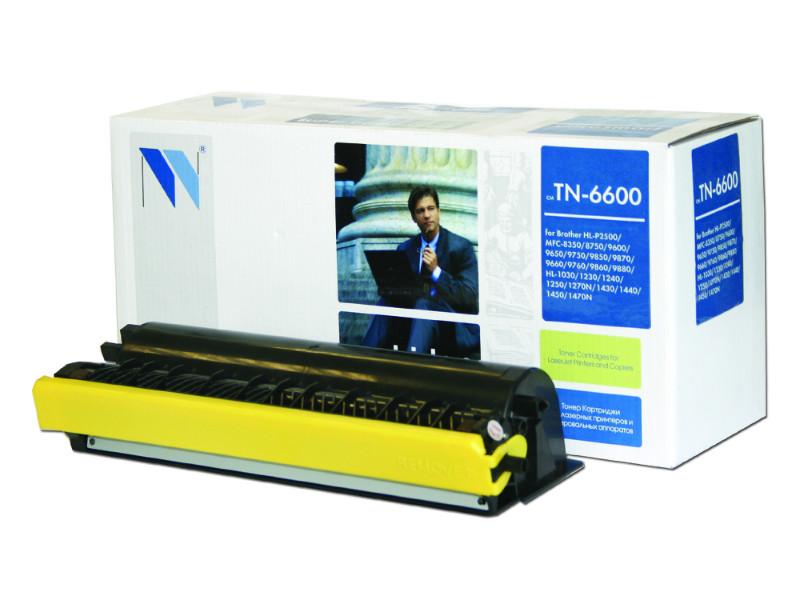 Совместимый картридж Brother TN-6600 (6000 стр., черный)