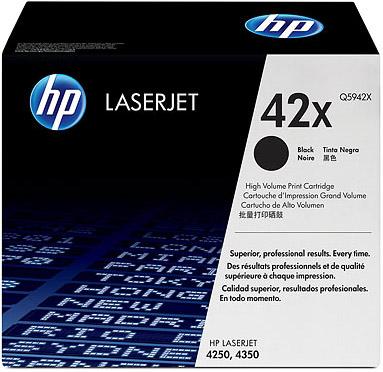 (Уценка) Q5942X - НТВ-1 Картридж HP для LaserJet 4250, 4350 черный (20 000 стр.)