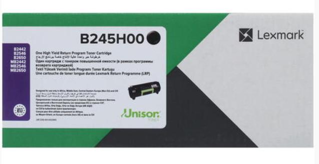 Оригинальный картридж лазерный Lexmark B245H00(черный, 6000 стр.)