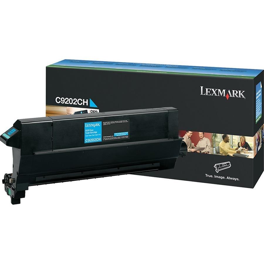 Оригинальный картридж Lexmark C9202CH (14000 стр., голубой)