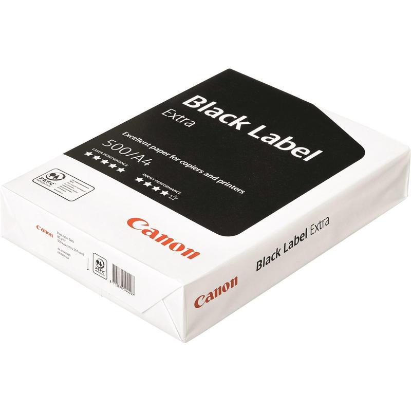 Бумага для офисной техники Canon Black Label Extra (А4, 80 г/кв.м, 500л., класс