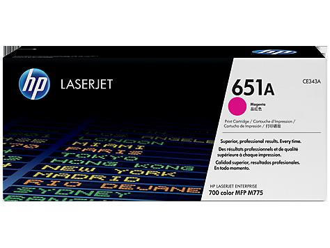 (Уценка) Kартридж HP CE343A - НТВ-2 для LaserJet 700 color MFP M775dn, M775f, M775z пурпурный (13 500 стр.)