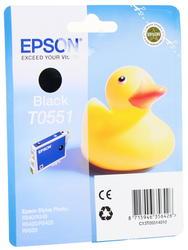 Оригинальный картридж струйный Epson T0551 (C13T05514010)