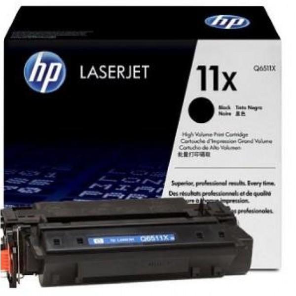 (Уценка) Картридж HP 11X Q6511X - НТВ-1 для LaserJet 2410, 2420, 2430 черный (12 000 стр.)