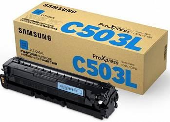 Оригинальный тонер-картридж Samsung CLT-C503L