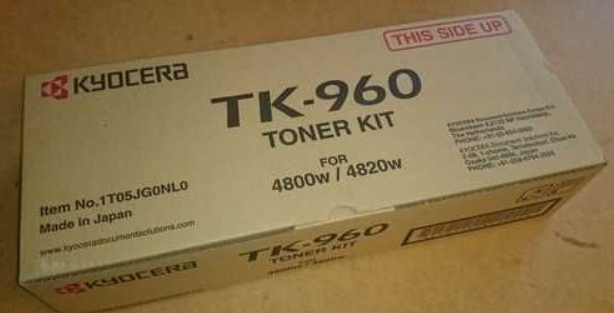 Тонер-картридж TK-960 2 400 м. для KM-4800W