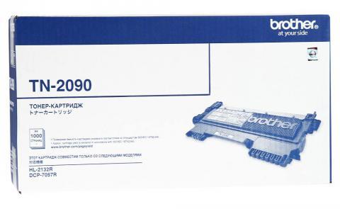 Картридж Brother TN-2090 для HL2132/DCP7057 черный (1 000 стр.)
