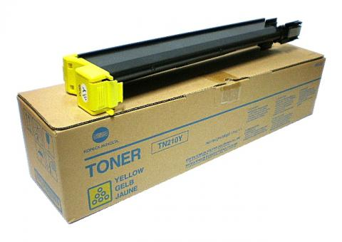 Тонер Konica-Minolta TN-210Y для bizhub C250/252 желтый (12 000 стр.)