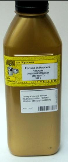 (Уценка)Тонер Kyocera TASKalfa 3050ci/3051ci/3551ci банка 390г (тонер+девелопер) TK-8305 Y БУЛАТ