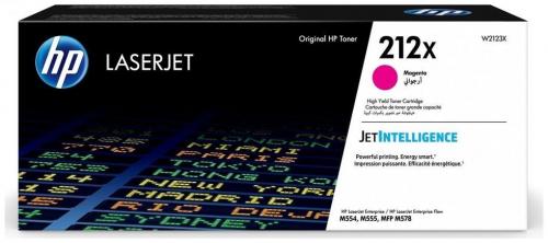 Оригинальный картридж HP 212X повышенной емкости (10000 стр., пурпурный)