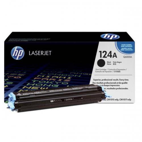 (Уценка)Картридж HP Q6000A - НТВ-1 для Color LaserJet 1600, CM1017, 2600n, 2605  черный  (2 500 стр.)
