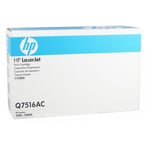(Уценка)Картридж HP Q7516AC НТВ-2 для LaserJet 5200, 5200L, 5200dtn, 5200tn  черный  (12 000 стр.)