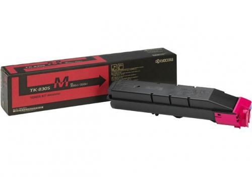 (Уценка)1T02LKBNL0 Тонер-картридж Kyocera TK-8305M - НТВ-1 для TASKalfa 3050ci пурпурный (15 000 стр.)