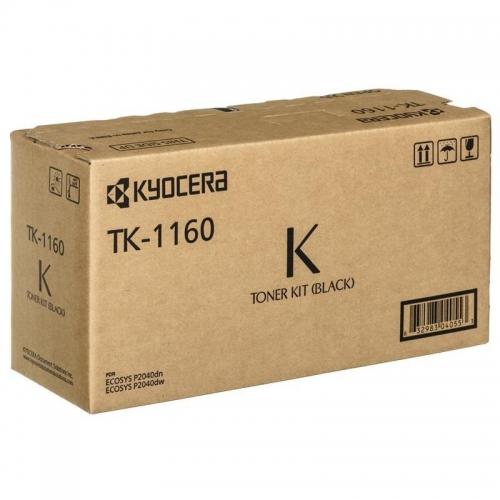 (Уценка)Тонер-картридж Kyocera TK-1160 - НТВ-1 (1T02RY0NL0) для P2040dn/P2040dw  черный  (7 200 стр.)