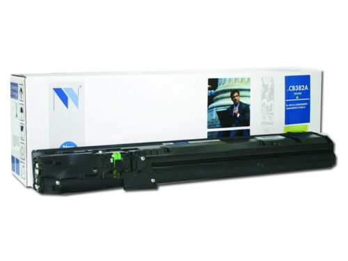 Совместимый картридж NV Print для HP CB382A (21000 стр., желтый)