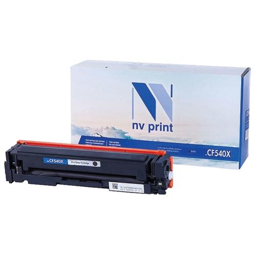 Картридж NVP совместимый NV-CF541X Cyan для HP Color LaserJet Pro M254dw/ M254nw/ M280nw/ M281fdn/ M281fdw (2500 стр)