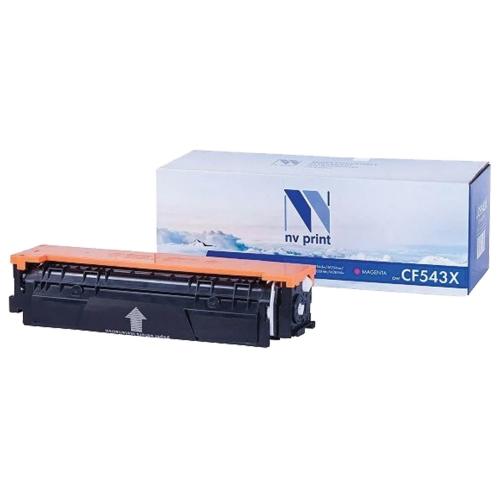Картридж NVP совместимый NV-CF543X Magenta для HP Color LaserJet Pro M254dw/ M254nw/ M280nw/ M281fdn/ M281fdw (2500 стр)