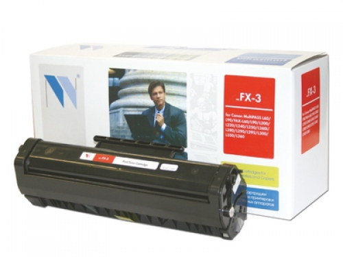 Совместимый картридж NV Print для Canon FX-3 (2700 стр., черный)