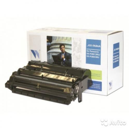 Совместимый барабан NV Print для Panasonic KX-FAD86A (10000 стр., черный)